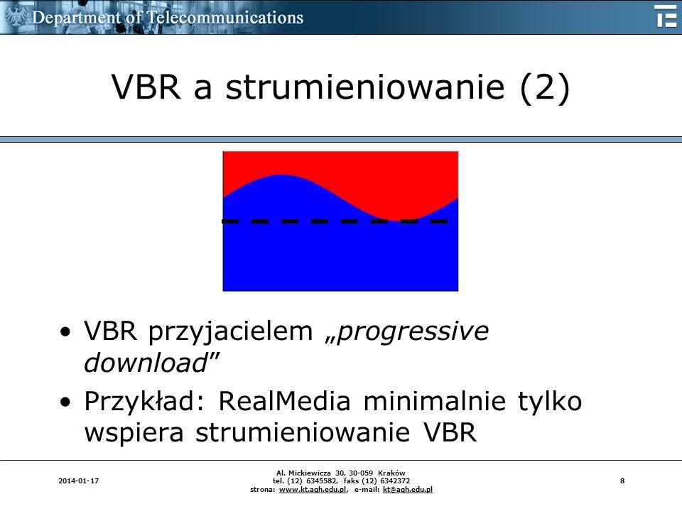 VBR a strumieniowanie (2)