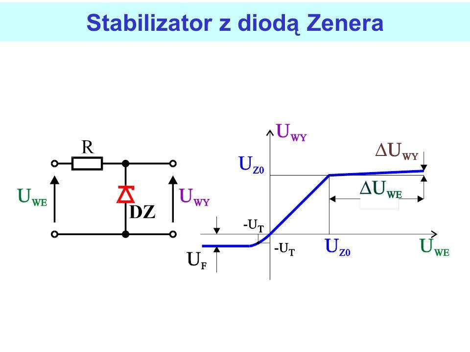 Stabilizator z diodą Zenera