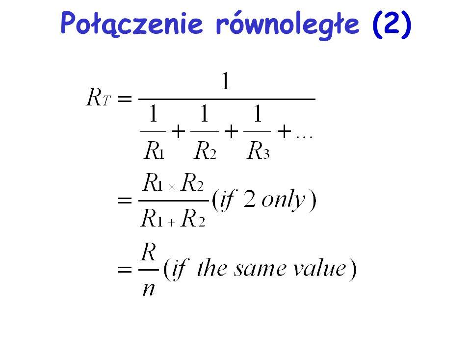Połączenie równoległe (2)