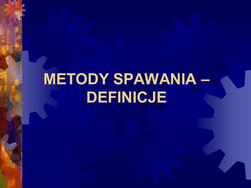 METODY SPAWANIA – DEFINICJE