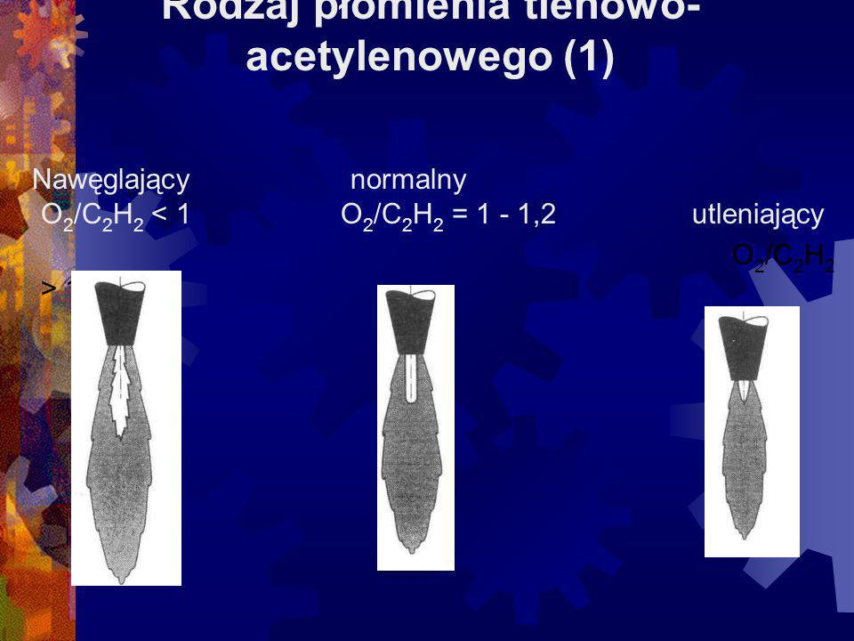 Rodzaj płomienia tlenowo-acetylenowego (1)