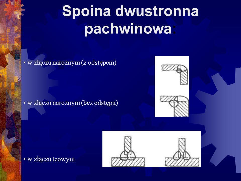 Spoina dwustronna pachwinowa:
