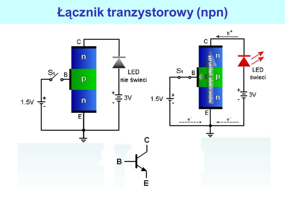 Łącznik tranzystorowy (npn)