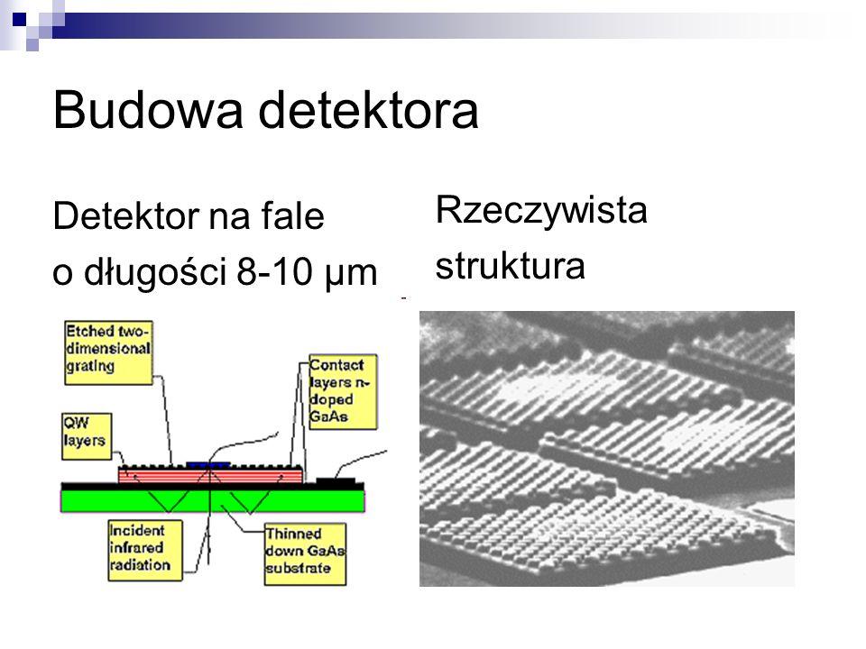 Budowa detektora Rzeczywista Detektor na fale struktura
