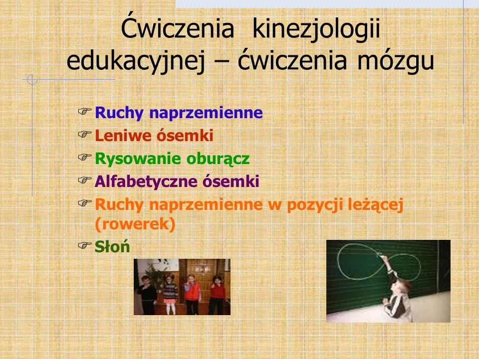 Ćwiczenia kinezjologii edukacyjnej – ćwiczenia mózgu