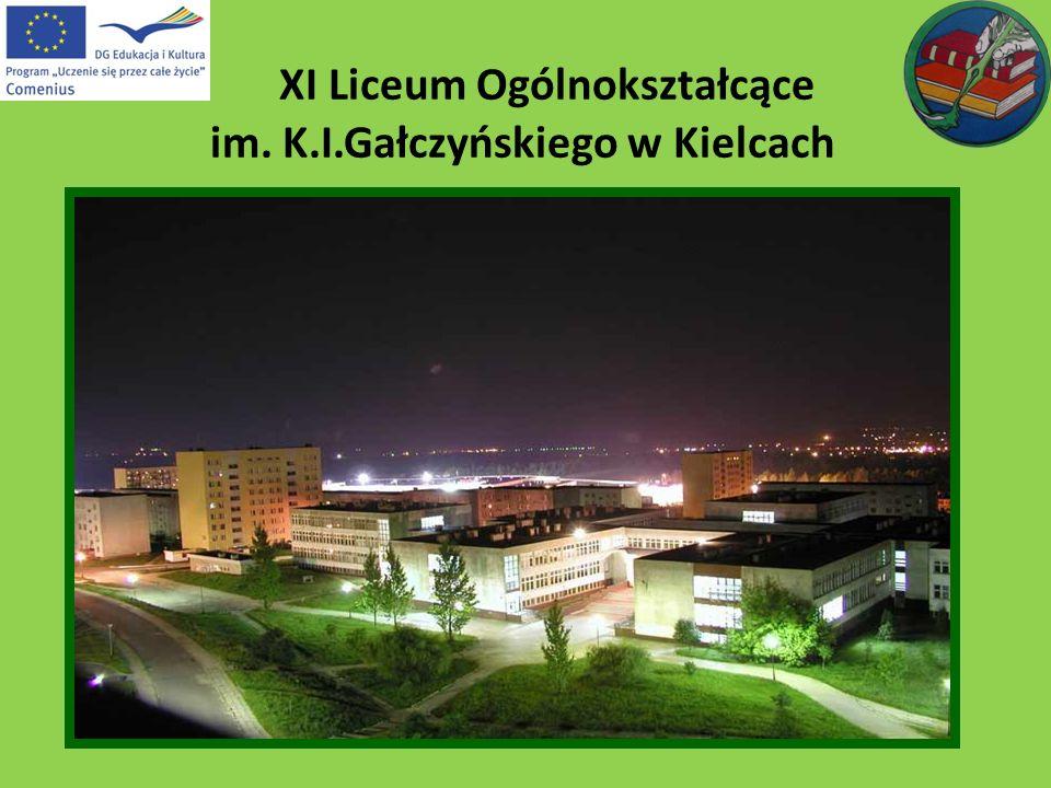 XI Liceum Ogólnokształcące im. K.I.Gałczyńskiego w Kielcach