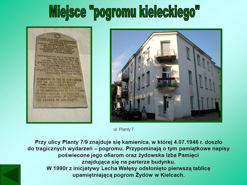 Miejsce pogromu kieleckiego