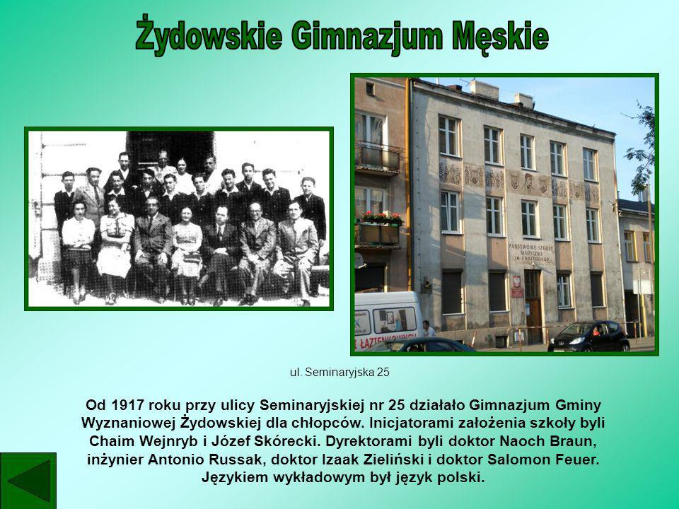 Żydowskie Gimnazjum Męskie