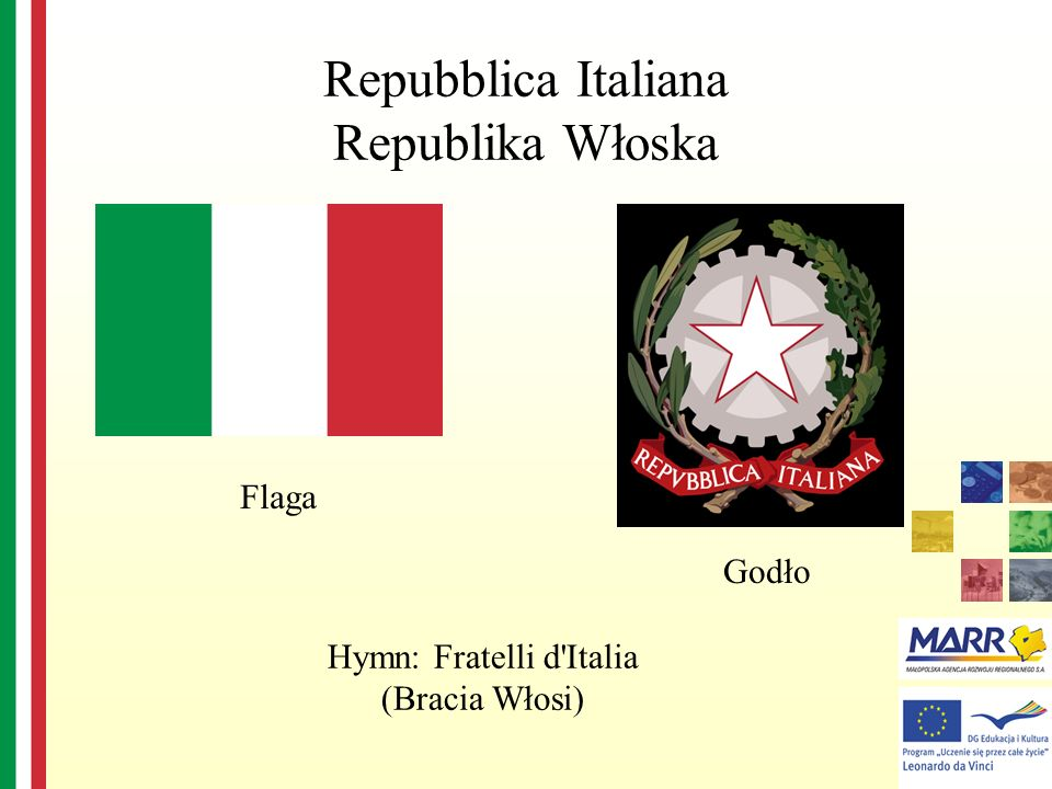 Repubblica Italiana Republika Włoska