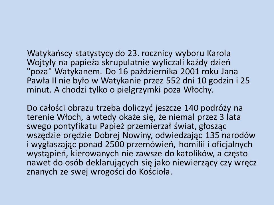 Watykańscy statystycy do 23