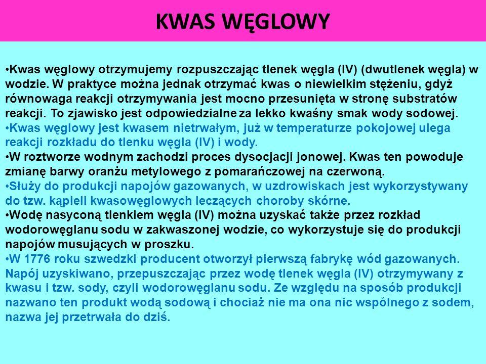 KWAS WĘGLOWY