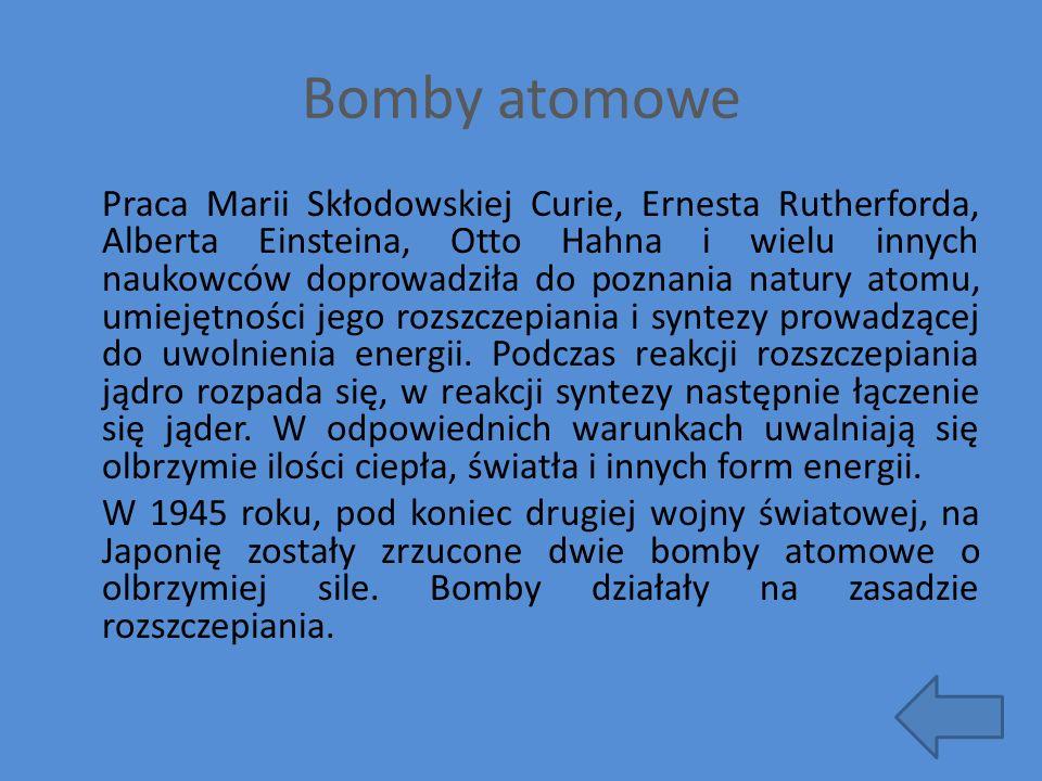 Bomby atomowe