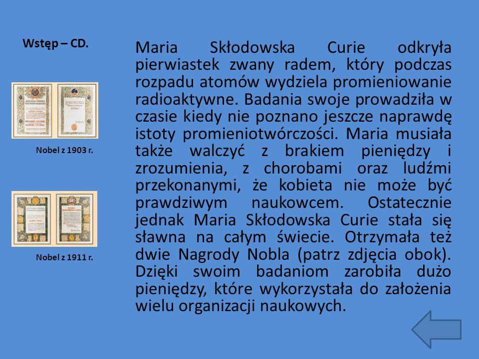 Wstęp – CD.