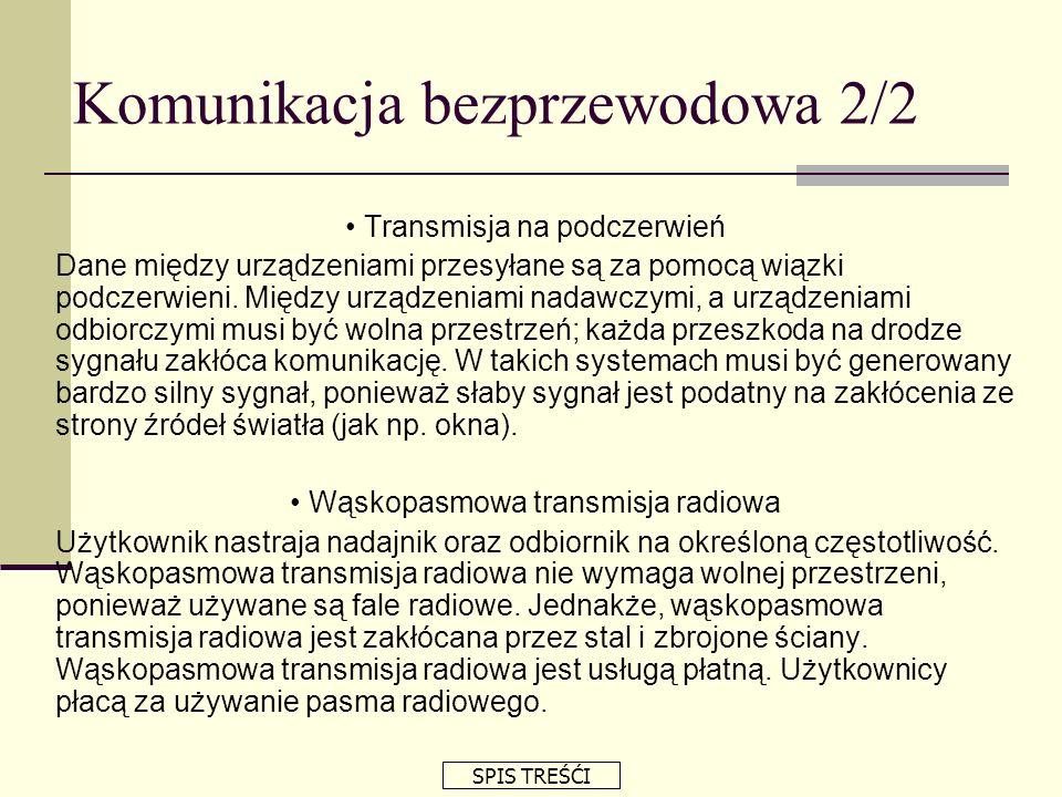 Komunikacja bezprzewodowa 2/2
