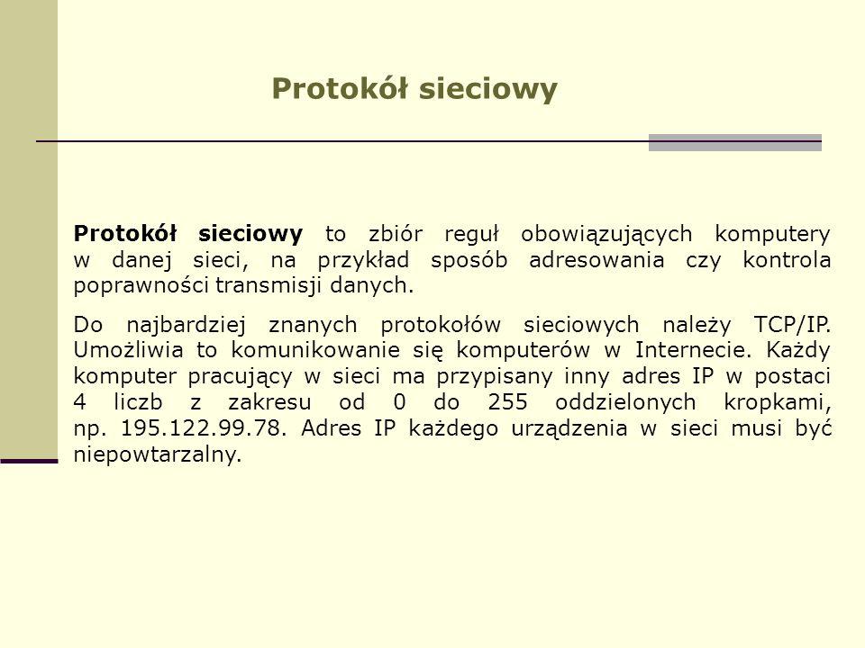 Protokół sieciowy