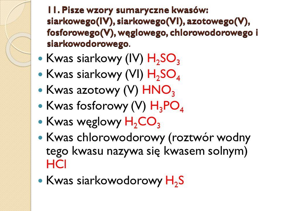 Kwas siarkowodorowy H2S