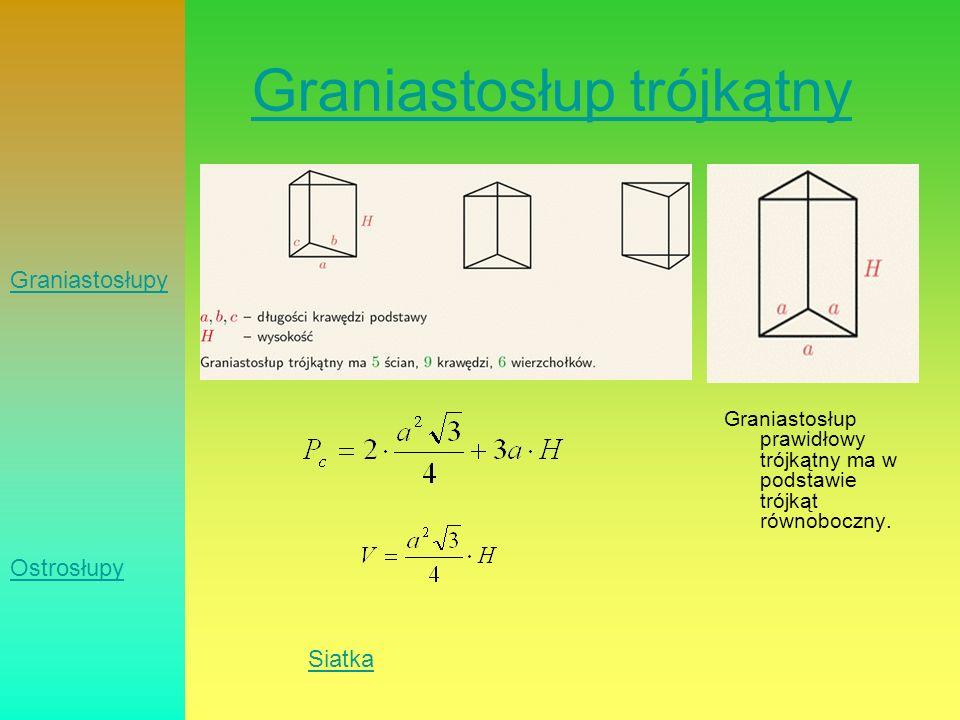 Graniastosłup trójkątny