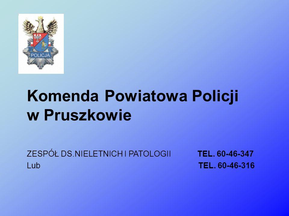 Komenda Powiatowa Policji w Pruszkowie