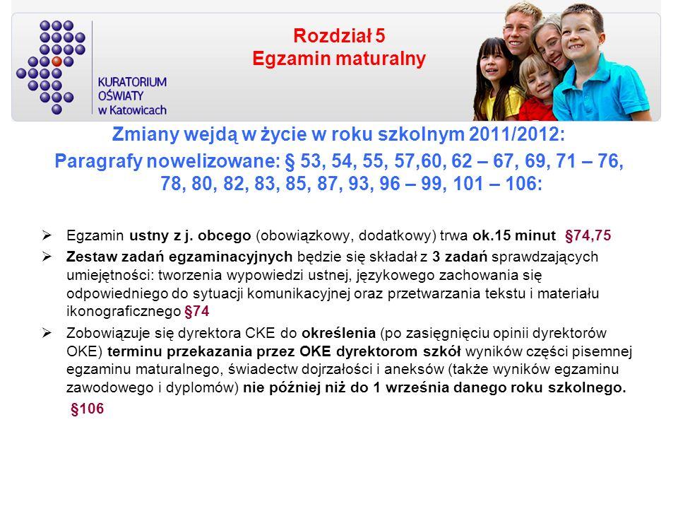 Rozdział 5 Egzamin maturalny