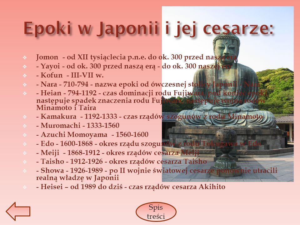 Epoki w Japonii i jej cesarze: