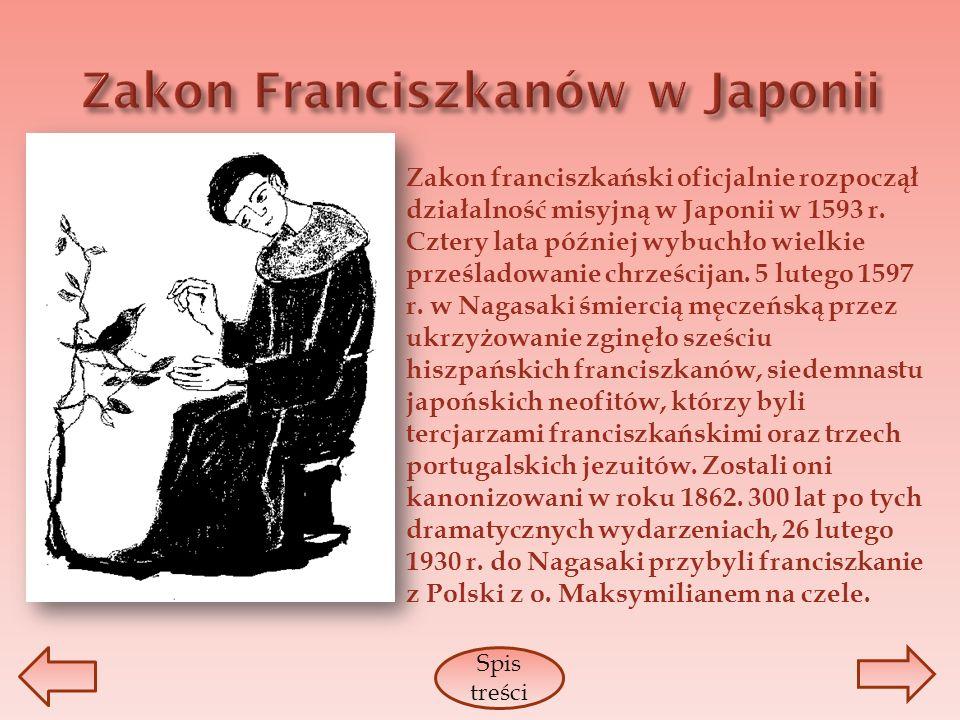 Zakon Franciszkanów w Japonii