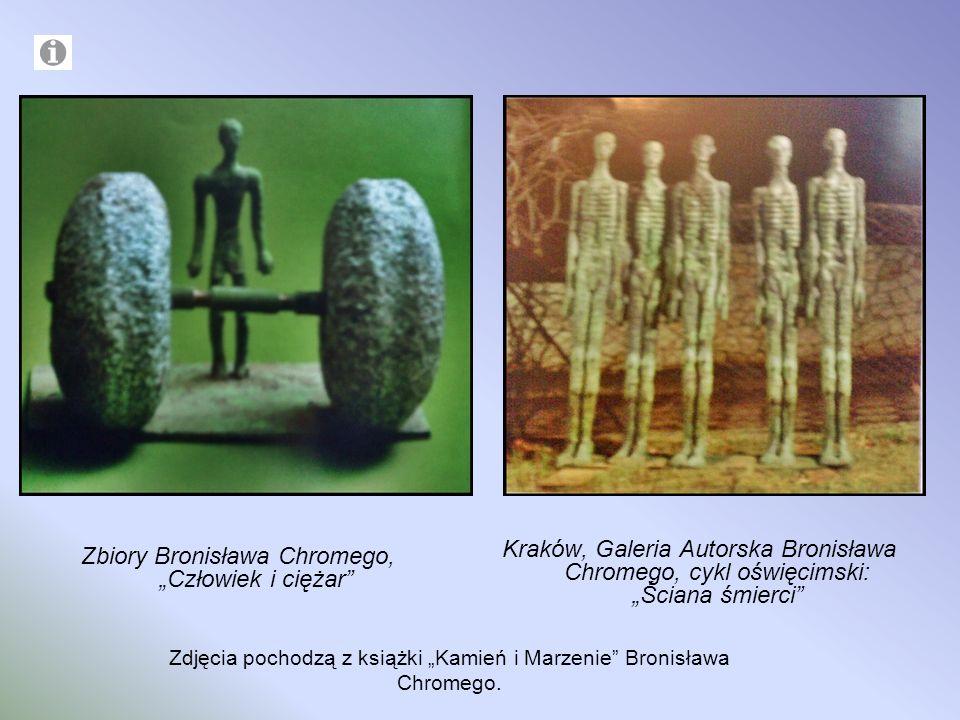 """Zbiory Bronisława Chromego, """"Człowiek i ciężar"""