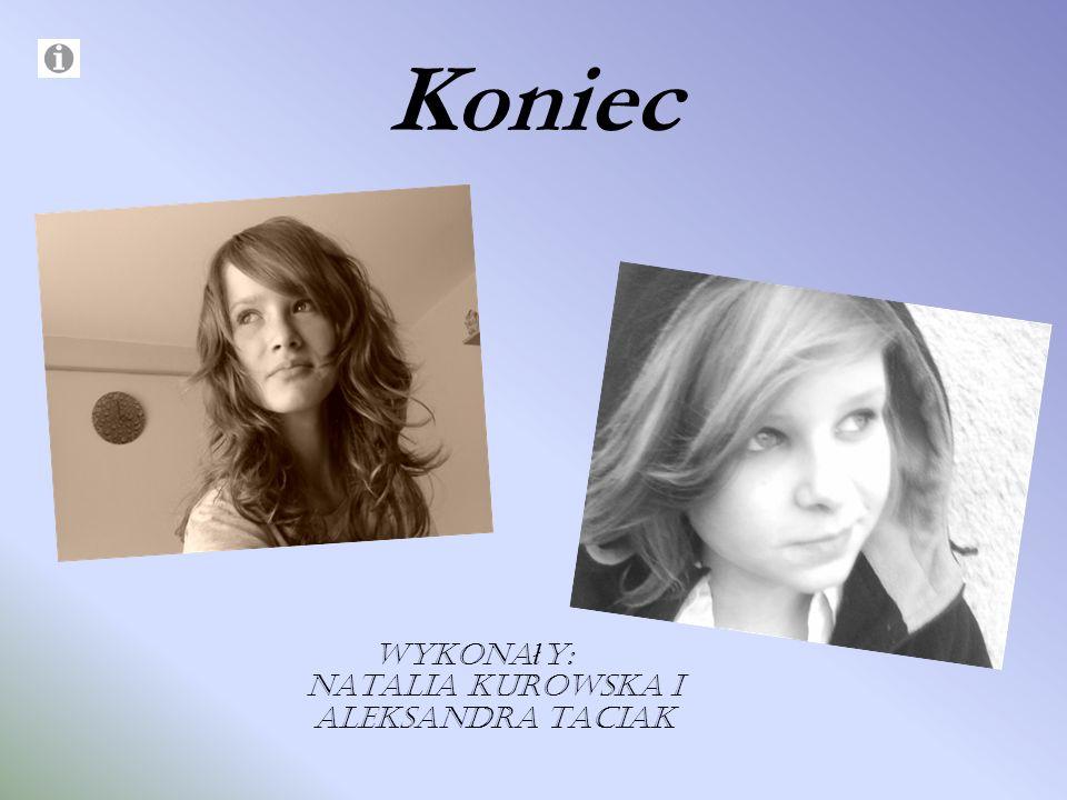 Wykonały: Natalia Kurowska i Aleksandra Taciak