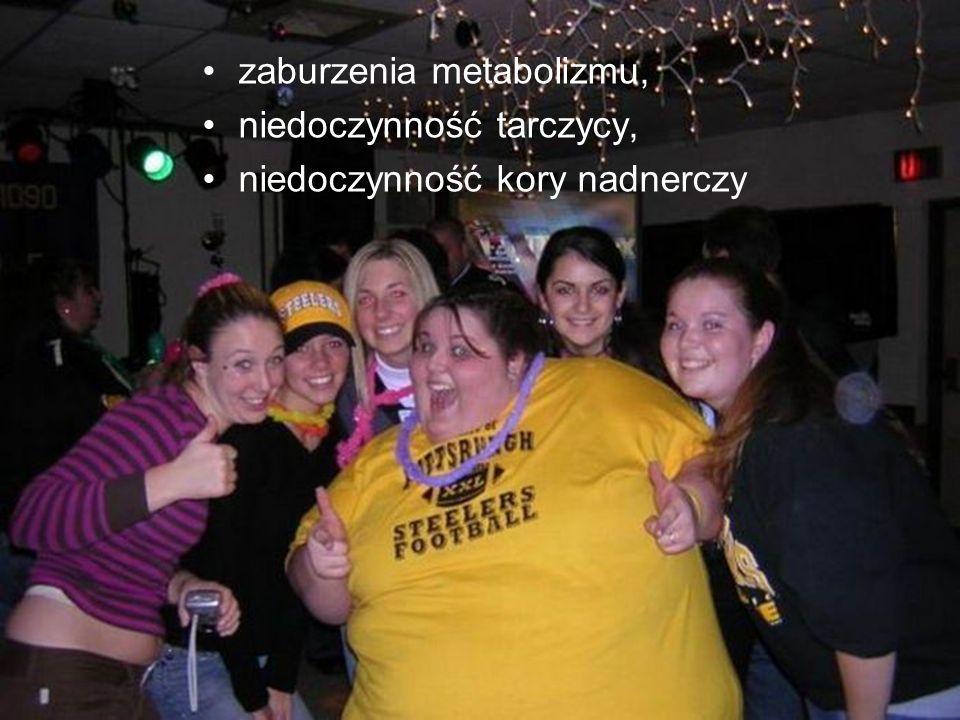 zaburzenia metabolizmu,