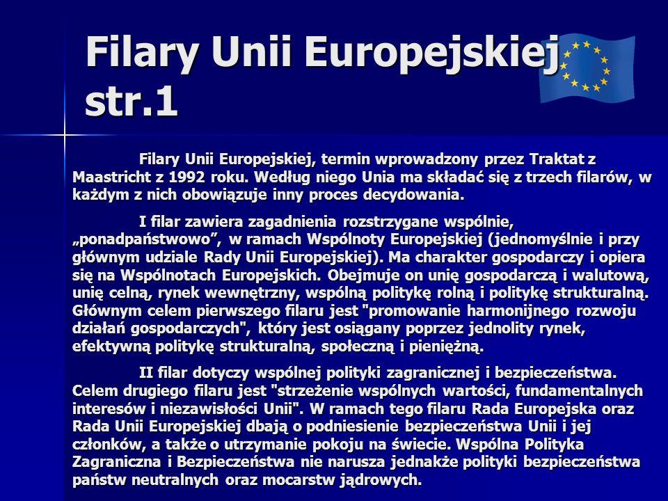 Filary Unii Europejskiej str.1