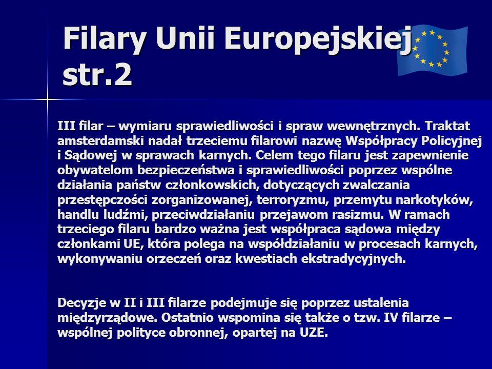 Filary Unii Europejskiej str.2
