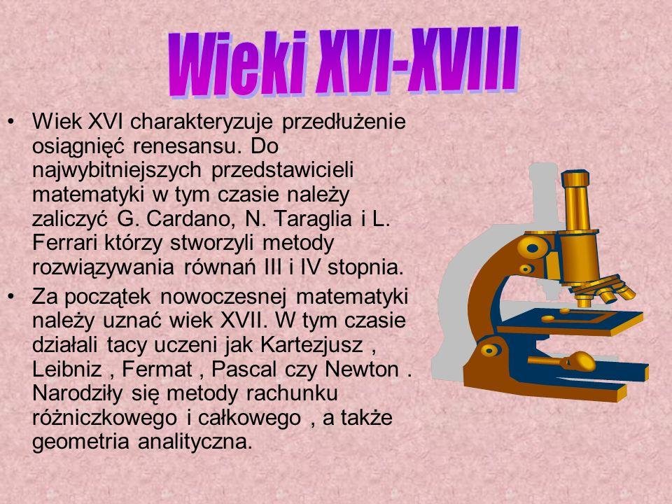 Wieki XVI-XVIII