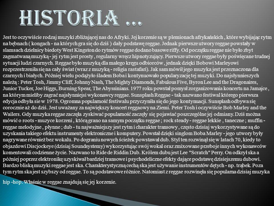Historia …
