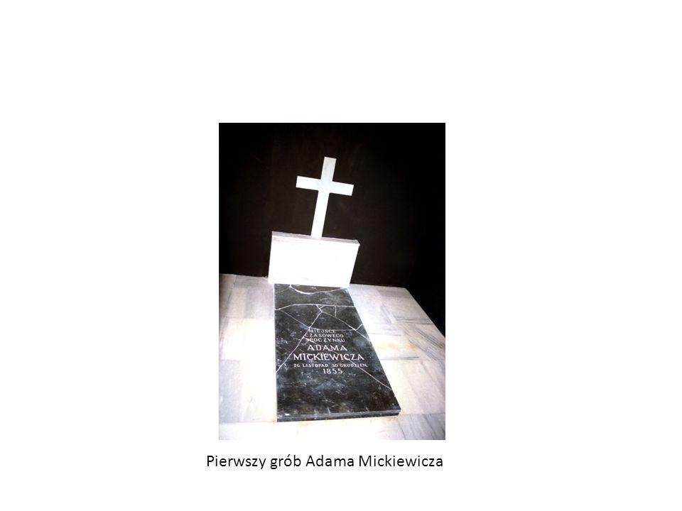 Pierwszy grób Adama Mickiewicza
