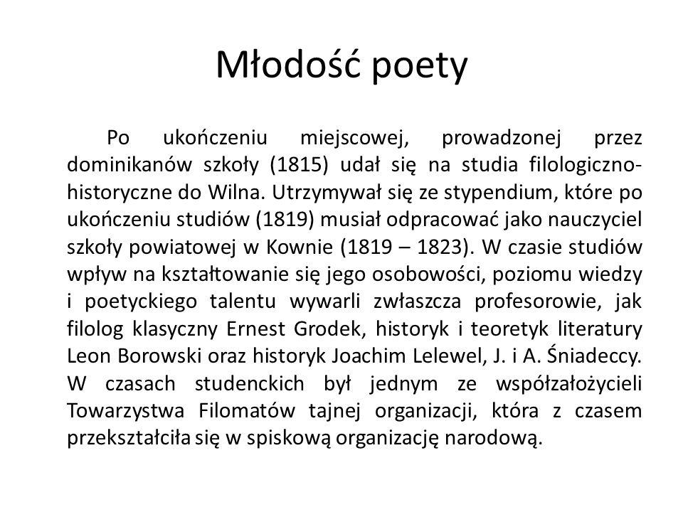 Młodość poety