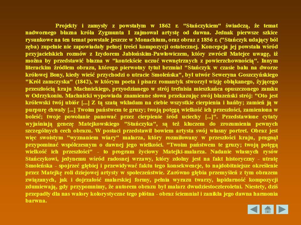 Projekty i zamysły z powstałym w 1862 r