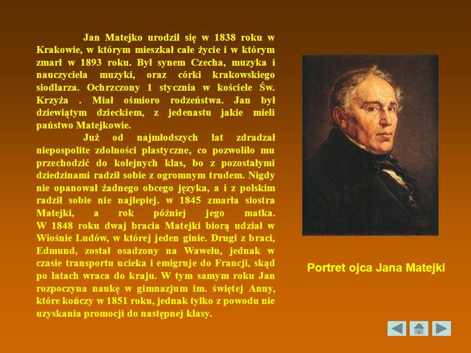 Portret ojca Jana Matejki