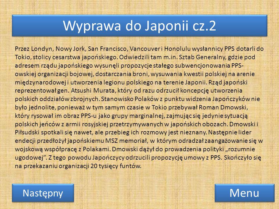 Wyprawa do Japonii cz.2 Menu Następny