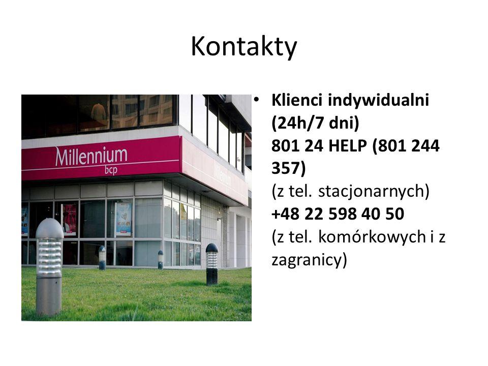 Kontakty Klienci indywidualni (24h/7 dni) 801 24 HELP (801 244 357) (z tel. stacjonarnych) +48 22 598 40 50 (z tel. komórkowych i z zagranicy)