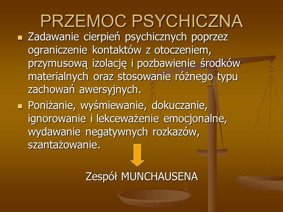 PRZEMOC PSYCHICZNA