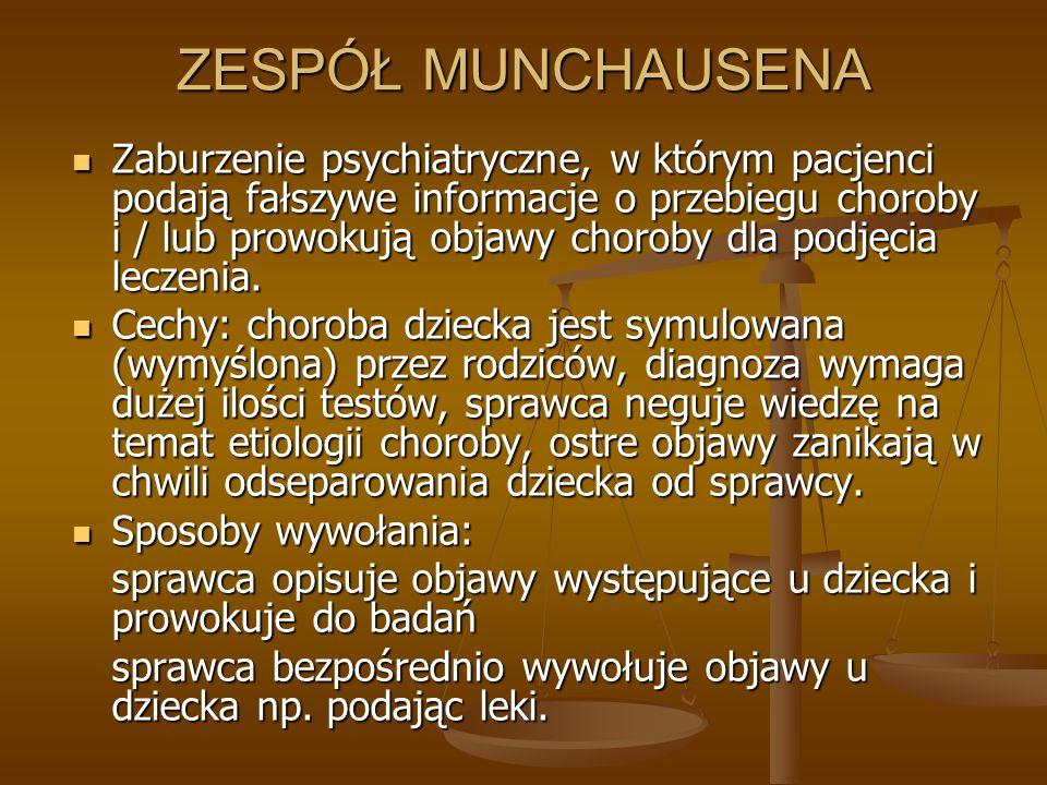 ZESPÓŁ MUNCHAUSENA