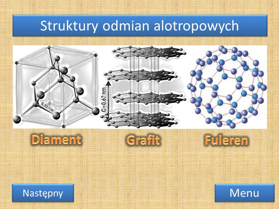 Struktury odmian alotropowych