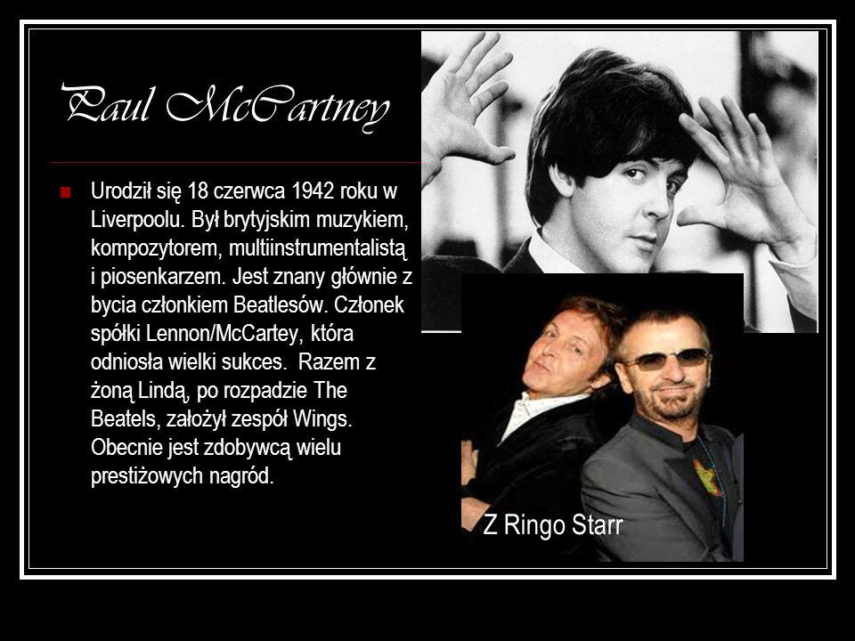 Paul McCartney Z Ringo Starr