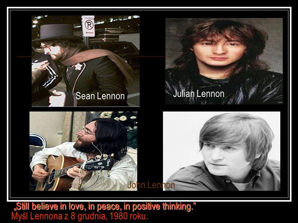 Julian Lennon Sean Lennon. John Lennon.
