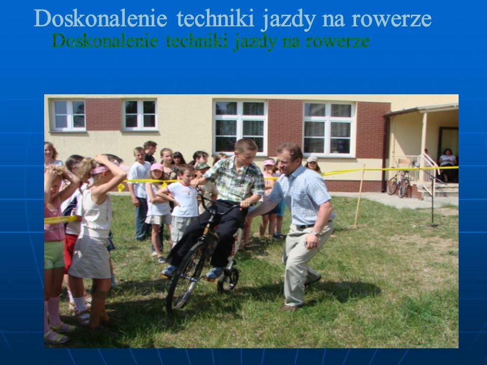 Doskonalenie techniki jazdy na rowerze