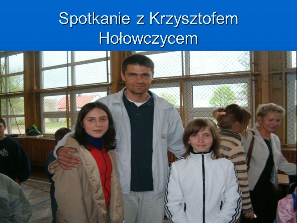 Spotkanie z Krzysztofem Hołowczycem
