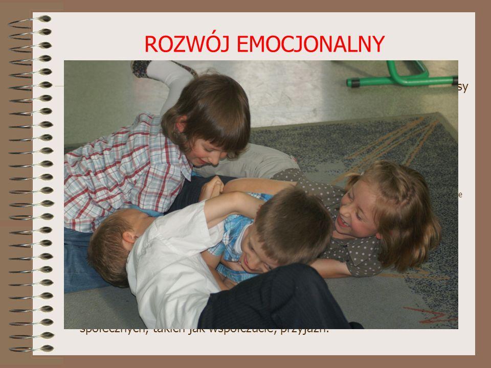 ROZWÓJ EMOCJONALNY Dziecko rozpoczynające naukę w szkole