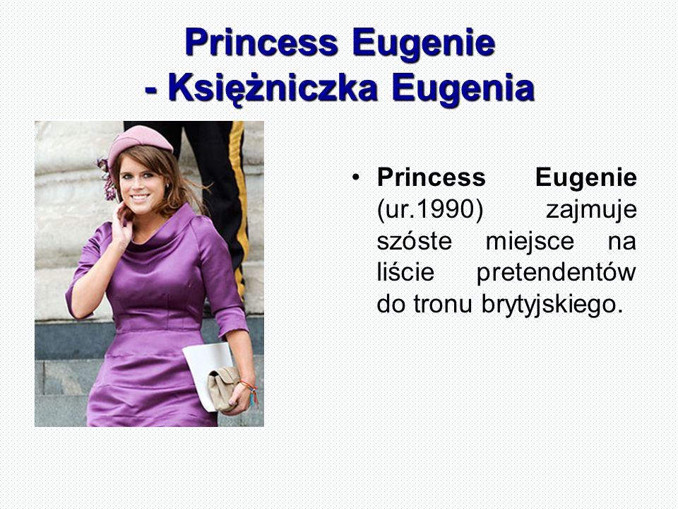 Princess Eugenie - Księżniczka Eugenia