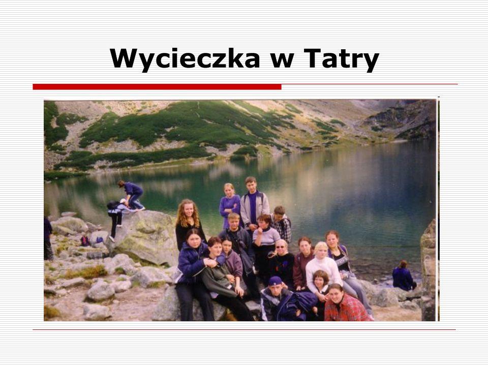 Wycieczka w Tatry