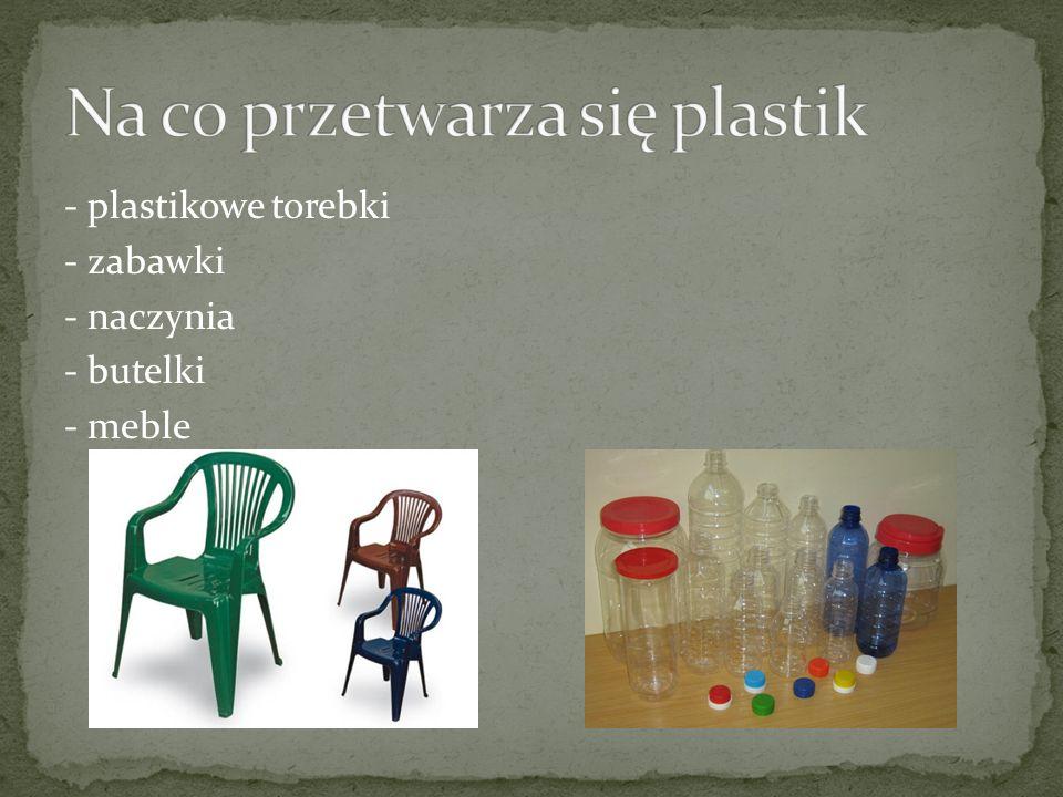 Na co przetwarza się plastik