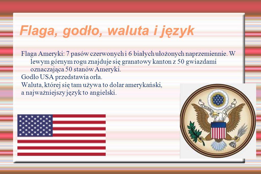 Flaga, godło, waluta i język